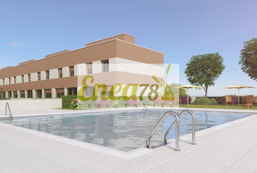 Rivas vaciamadrid residencial enea78 altter for Piscina rivas